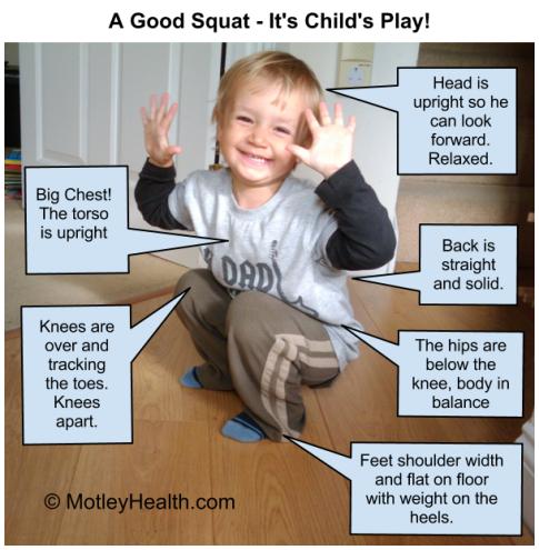 Baby-squat