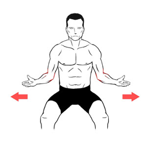 bilateral shoulder external rotation