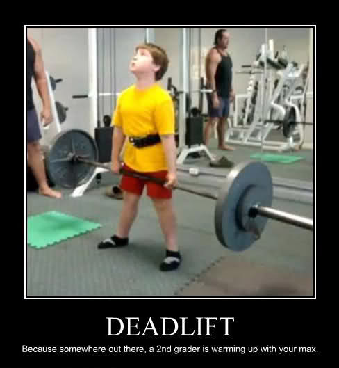 deadlifting