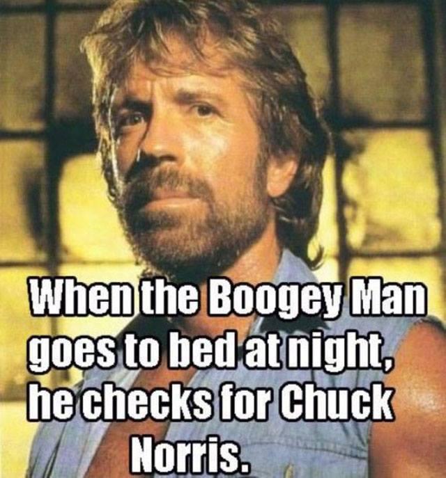 Chuck is sleepy.