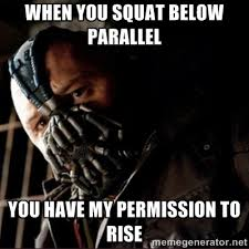 squat parlell